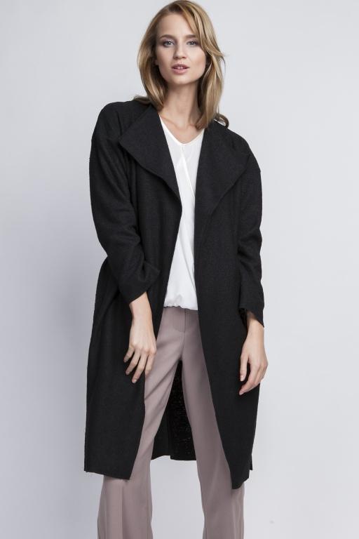 Ciepły płaszcz, PA101 czarny