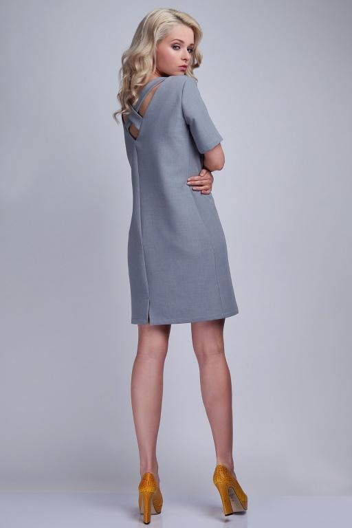 Kobieca sukienka, SUK118 szary