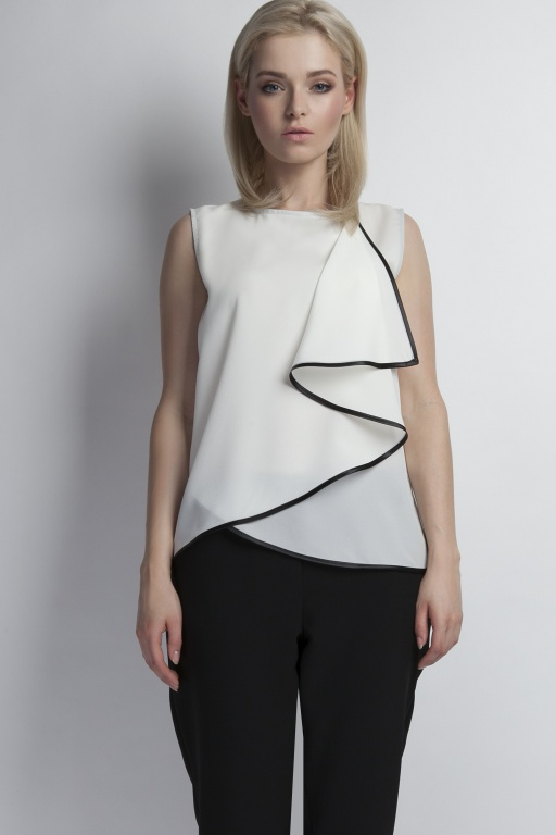 Sleeveless blouse, BLU124 ercu