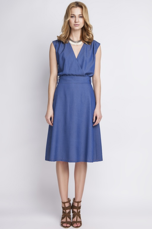 Jeans dress in retro style, SUK126 jeans