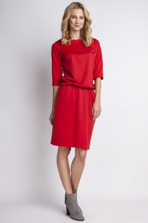 A classic dress, SUK129 red