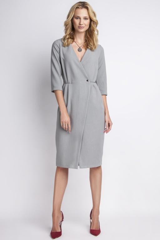 Elegant dress, SUK131 gray