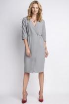 Elegancka sukienka, SUK131 szary