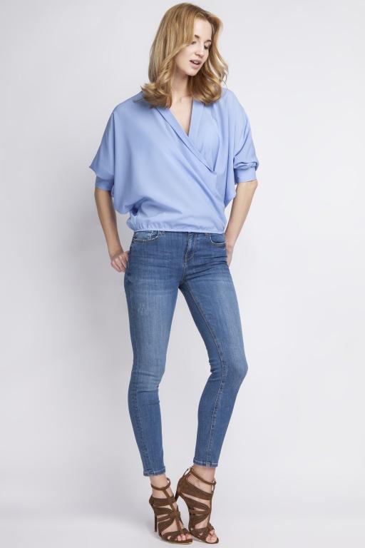 Bluzka nietoperz, BLU126 niebieski