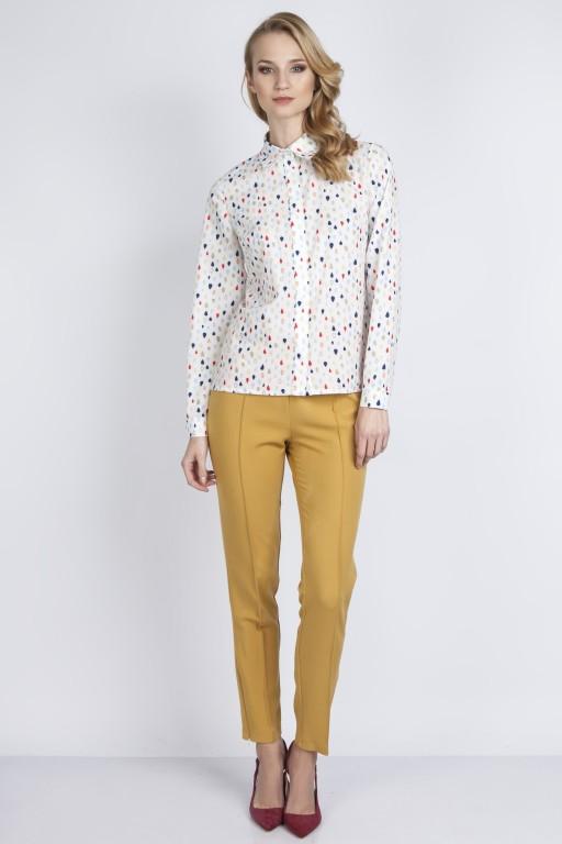 Elegancka koszula, K101 kropelki
