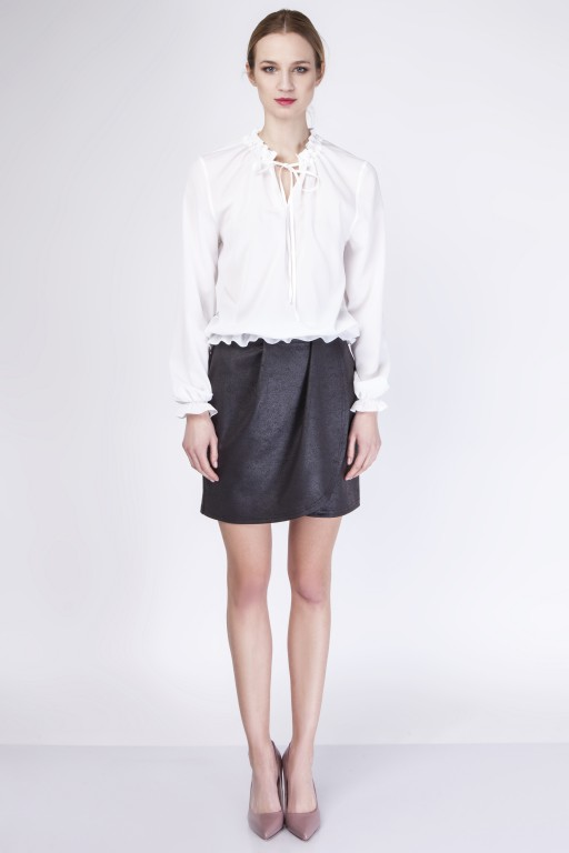 Subtle blouse, BLU129 ecru