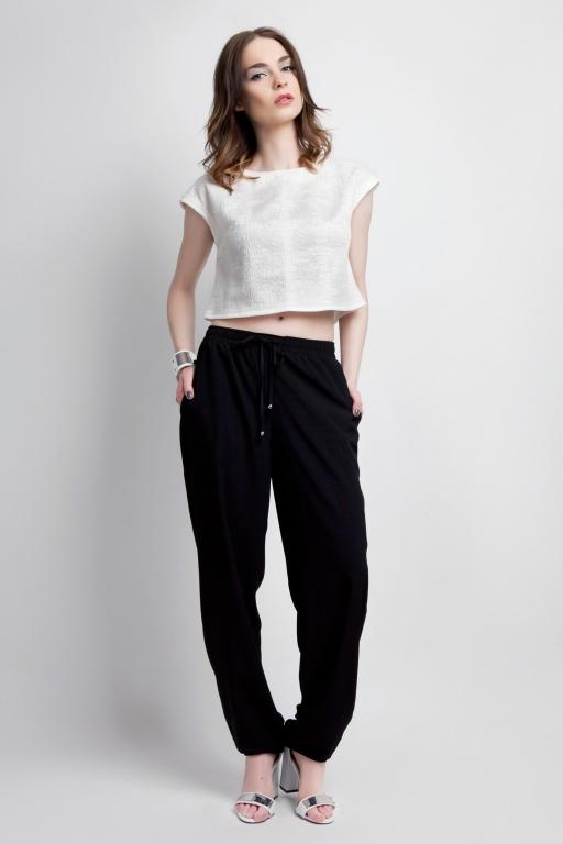 Spodnie, SD105 czarny