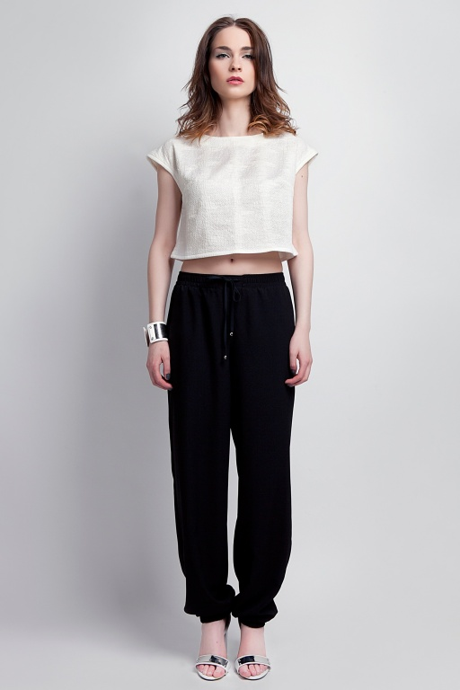 Airy trousers, SD105 black