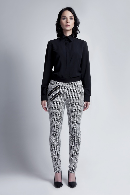 Eleganckie spodnie, SD106 kostka