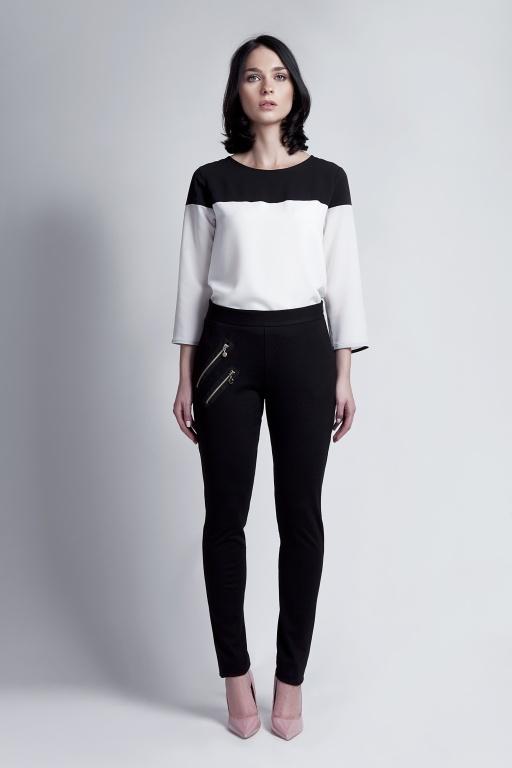 Eleganckie spodnie, SD107 czarny