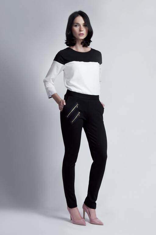 Spodnie, SD107 czarny
