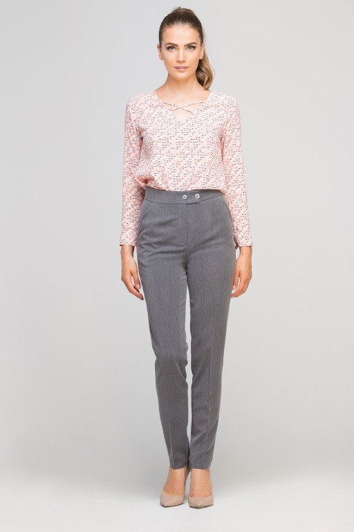 Pants without cuffs, SD114 graphite