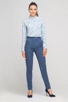 Spodnie bez mankietów, SD114 niebieski