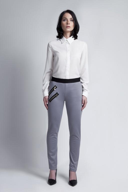 Eleganckie spodnie, SD107 szary