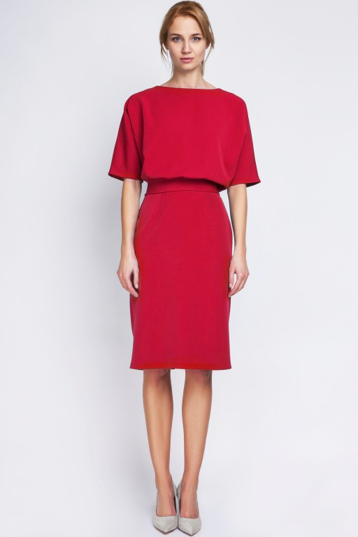 Dress tapered bottom, SUK123 red