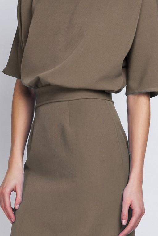 Dress tapered bottom, SUK123 khaki