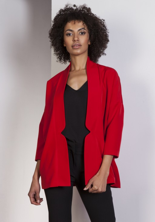 Casualowy jacket, ZA114 red