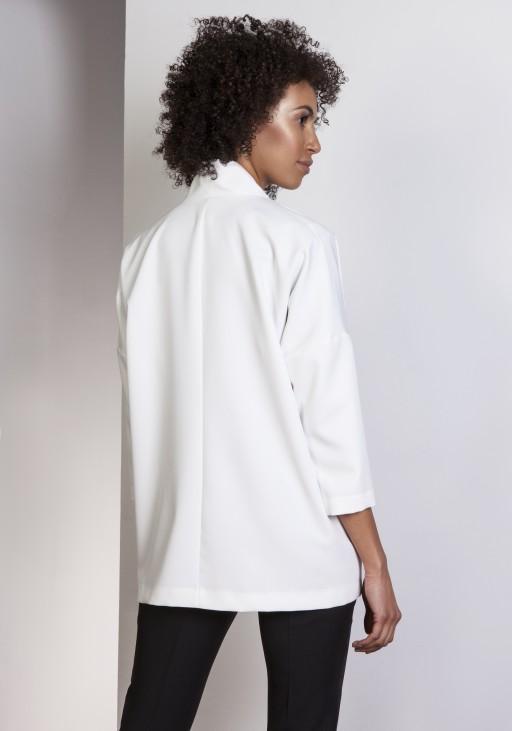Casualowy jacket, ZA114 ecru