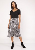 Flared skirt, SP119 panther