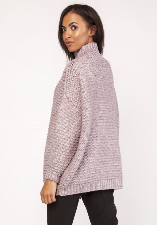 Sweterek - golf, SWE116 róż