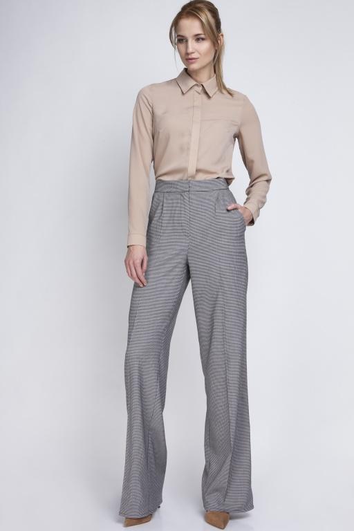 Klasyczne spodnie z wysokim stanem, SD111 pepito