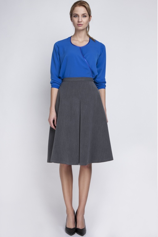 Midi skirt, SP110 graphite