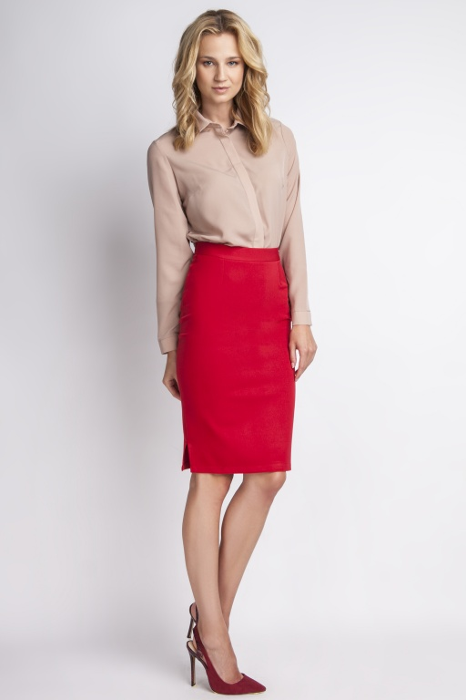 Classic skirt, SP112 red