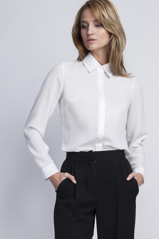 Elegancka koszula, K101 ecru
