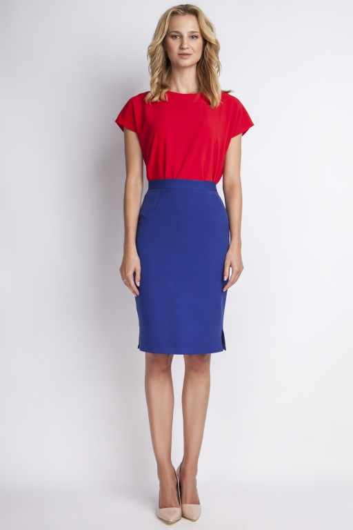 Classic skirt, SP112 indigo