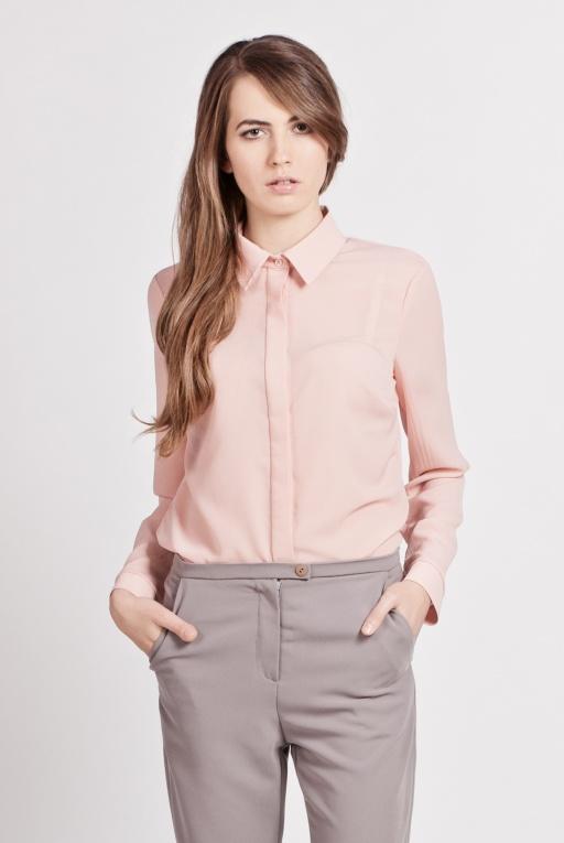 Elegant shirt, K101 pink
