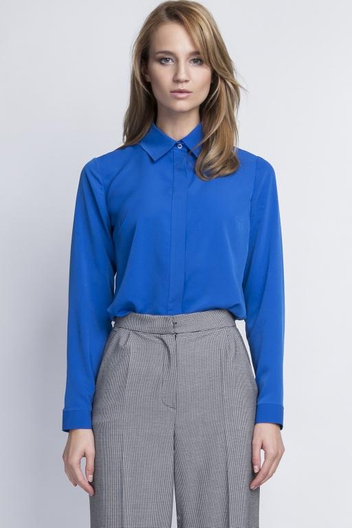 Elegant shirt, K101 indygo