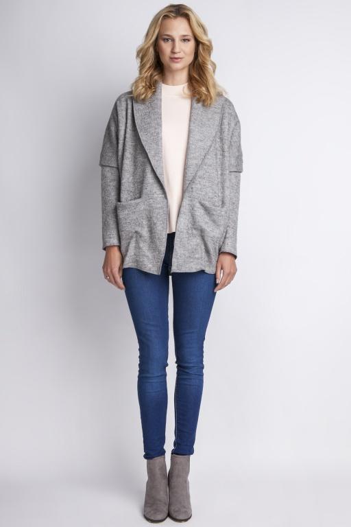 Warm coat, ZA108 grey