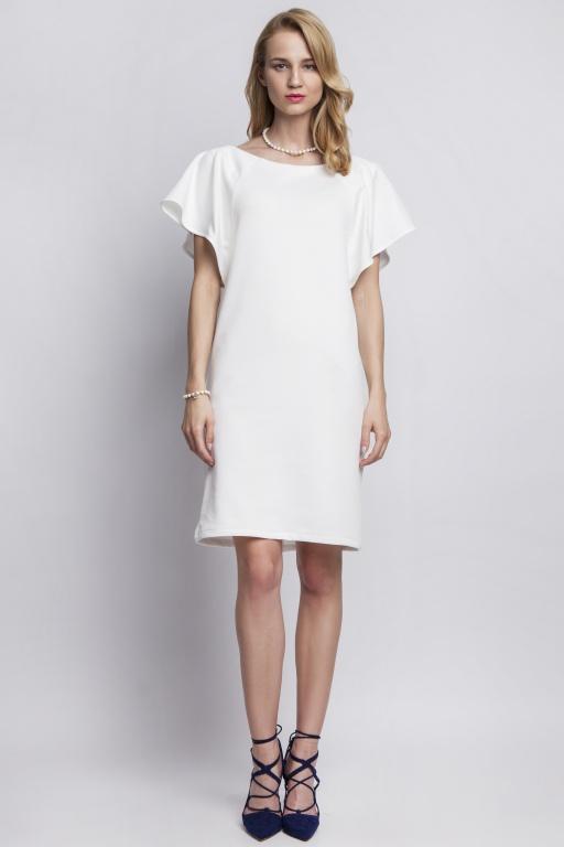 Dress with original sleeves, SUK104 ecru