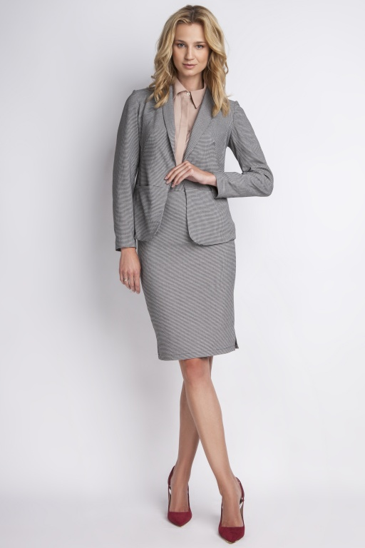 The stylish jacket, ZA113 grey