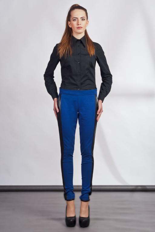 Spodnie z lampasami, SD102 indygo