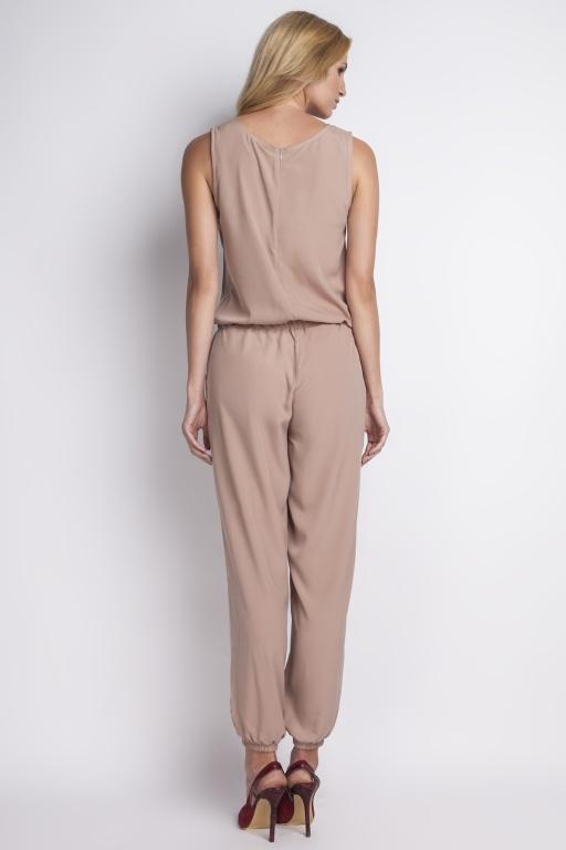 Airy jumpsuit, KB101 beige