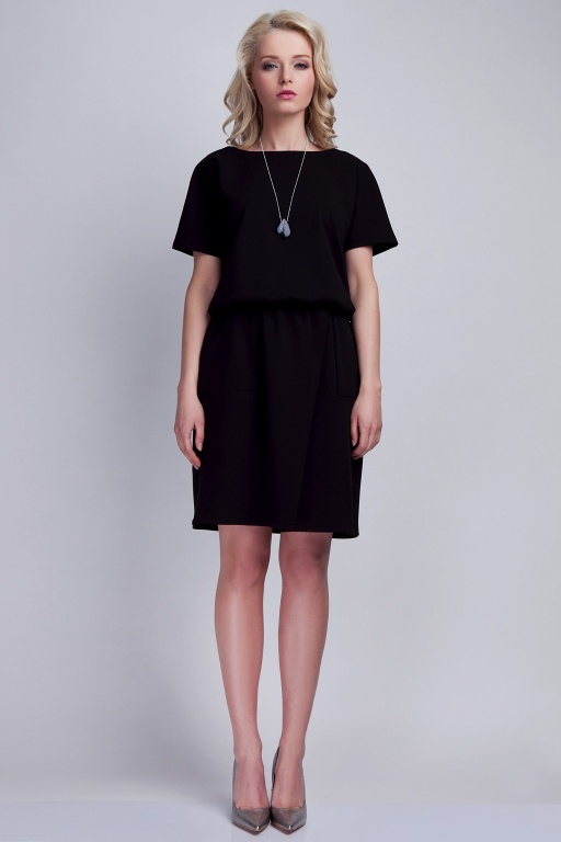 Dress with pockets, SUK117 black