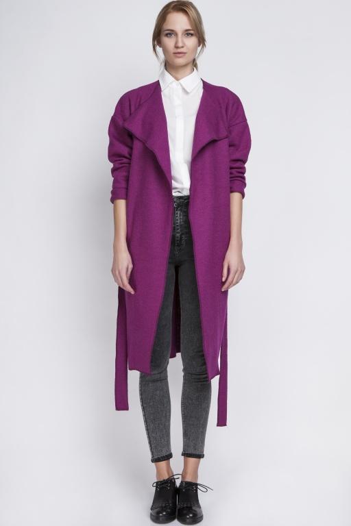 Ciepły płaszcz, PA101 fuksja