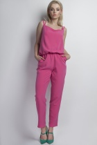 Jumpsuit shoulder straps, KB103 pink