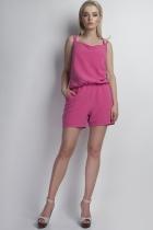 Short jumpsuit, KB104 pink