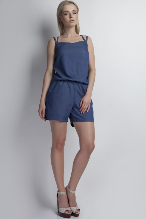 Short jumpsuit, KB106 jeans