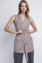Elegant vest, KM103 beż
