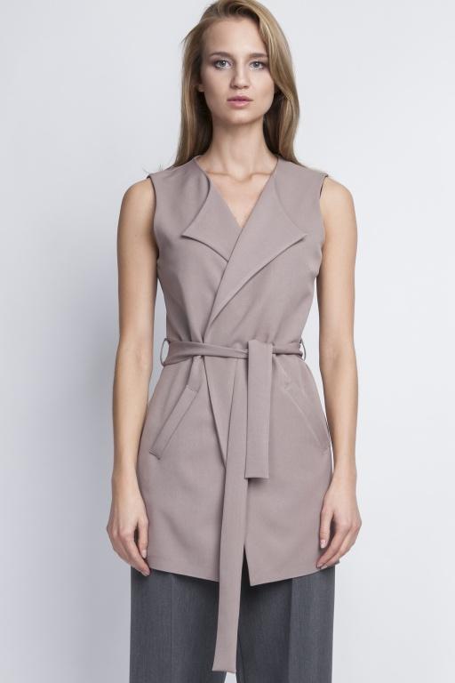 Elegant vest, KM103 beige
