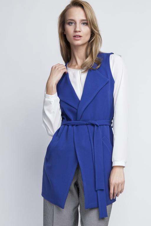 Elegant vest, KM103 indygo