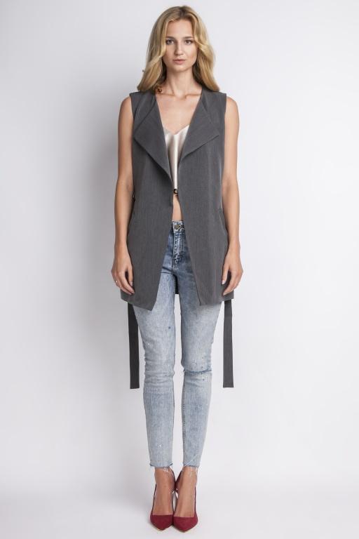 Elegant vest, KM103 graphite