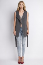 Elegant vest, KM103 grafit