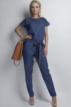 Jumpsuit with belt, KB107 jeans