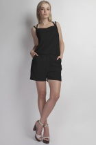Short jumpsuit, KB104 black