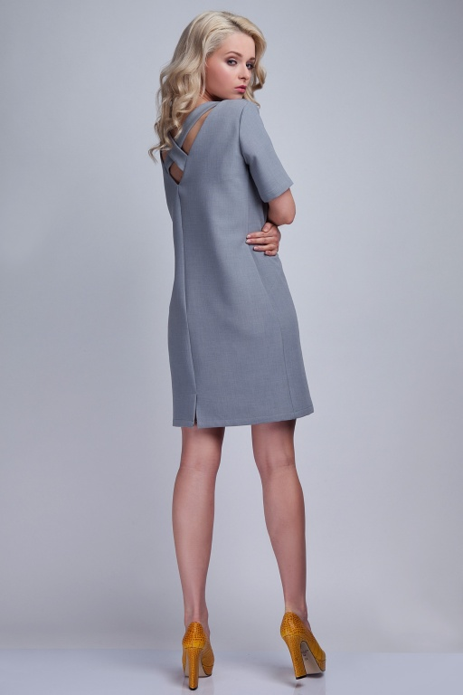 Feminine dress, SUK118 gray
