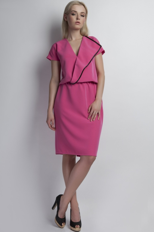 Envelope dress, SUK119 pink